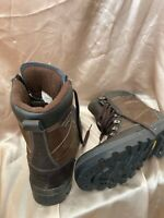 Mountain Warehouse Extreme Brown Leather Snow Boots Iso Dry Iso Grip Size 10