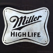 Miller High Life Metal Wall Art Sign