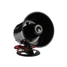 DC12V Alarm Alert Speaker Buzzer Horn 125dB For Secure Alarm System Angle adjust
