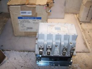 NEW WESTINGHOUSE 100 AMP 4 POLE LIGHTING CONTACTOR COIL 120 VAC A202K3DAZ