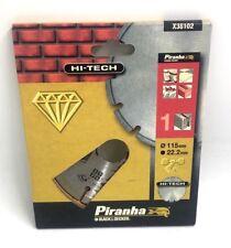 PIRANHA HI-TECH 115MM DIAMOND CUTTING BLADE X38102