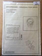 Woodwork Construction Plan - English Dail Clock