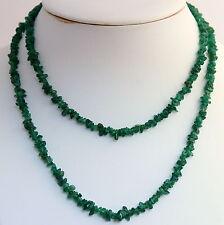 Aventurina Collar de piedras preciosas INTERMINABLE ca.90 cm cadena minerales,