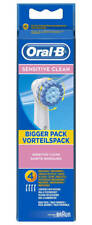 Oral-B Sensitive Clean Toothbrush Heads Replacement Refills Brand New Sealed