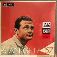 """STAN GETZ  - Stan Getz '57 - 12"""" Vinyl Record LP - SEALED"""