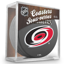 Official National Hockey League Licensed Carolina Hurricanes Coaster Set