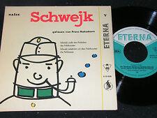 JAROSLAV HASEK Schwejk V gelesen von FRANZ KUTSCHERA / DDR SP 1958 ETERNA 510038