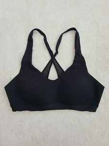 Lululemon Up For It Bra crossback Support padded Size 34A Black
