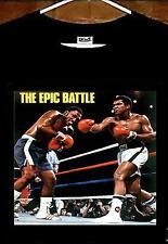Thrilla In Manila T shirt; Muhammad Ali vs Joe Frazier Epic Battle T shirt