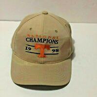 Vintage Tennessee Vols 1998 Snapback Hat Cap National Champions Starter