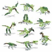 Meccano 6035541.0 6033323 – 10 Model Construction Set – Dinosaurs building