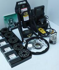Gates Hydraulic Hose Crimper 4-20, 5 dies, Electric Pump, Portable, Adjustable