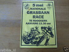 1991 NATIONALE GRASBAAN RACE HOOGKERK 5 MEI 1991