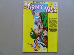 Our Army at War # 135 Sgt. Rock 1963 Joe Kubert cover art DC 12 cent issue