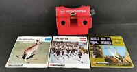 GAF White and Red View-Master with Reels Australia Austria and Birds Bundle