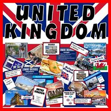 CD UNITED KINGDOM UK GB TEACHING RESOURCES KS2-3 GEOGRAPHY MAPS WELSH LANGUAGE