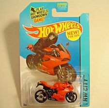 2014 Hot Wheels 36/250. RED Ducati 1199 Panigale. Speed Team. New in Package!