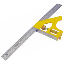 """STANLEY 12"""" (305mm) Metal Engineers Combination Cast Square With Scriber 246028"""