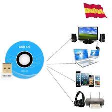 Adaptador Bluetooth USB V4.0 para ordenador PC coneccion inalámbrica 206