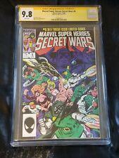 Secret Wars #6 CGC 9.8 SS STAN LEE 1 Auto Autograph