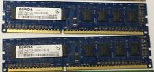 HP (Elpida) 4 GB (2x2GB) DDR3 PC3-10600U 1333 MHz