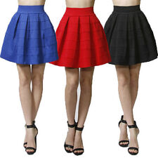 Unbranded Solid Mini Juniors Skirts for Women