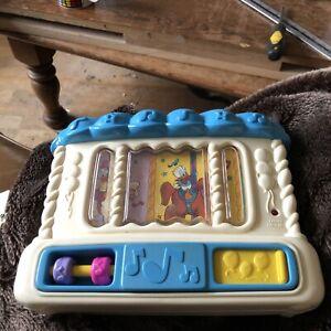Bin Donald Duck Musical  cot toy Vintage Mattel