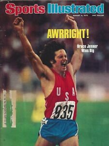 1976 Montreal Olympics, Bruce Jenner in his prime, Sports Illustrated,Aug 9,1976