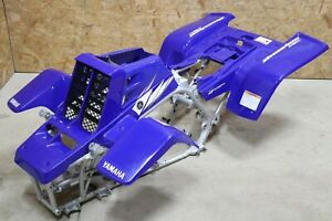Yamaha Banshee fenders + gas tank plastic + rad cover grill + graphics BLUE 2006