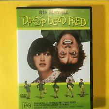 DROP DEAD FRED - DVD - ROK MAYALL - R4 - VGC - FREE POST