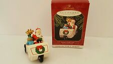 Hallmark Keepsake Ornament Santa's Golf Cart 1999 Here Comes Santa Series #21