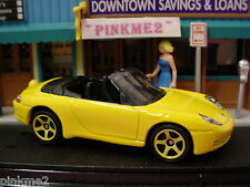 2013 Exotic Rides Design PORSCHE CARRERA CABRIOLET∞Yellow∞Loose Matchbox∞60TH