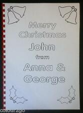 A4 Personalised XMAS COLOURING BOOK ~ Fun Child Present Gift Stocking Filler