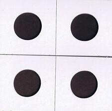 "30 -1 1/2""x1 1/2"" Cardboard MYLAR Various Coin Protector Holder Flips Asst Sizes"