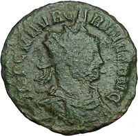 Carinus Carus son 384AD Ancient Roman Coin Equity Fairness w Scale libra i34630