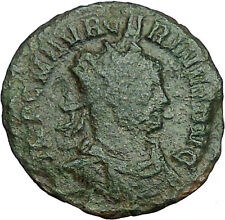 Carinus Carus son 384AD Ancient Roman Coin Equity Fairness w Scale libra i34630