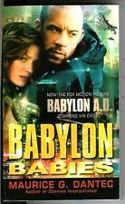 BABYLON BABIES, US Del Rey sci-fi novel, Vin Diesel film tie-in pulp vintage pb