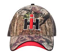 INTERNATIONL HARVESTER *MOSSY OAK CAMO* Trademark LOGO Twill Hat Cap *NEW* IH73