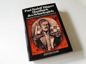 Handbuch des Schachspiels - Paul Rudolf Bilguer + Ergänzung Tschaturanga Band 3