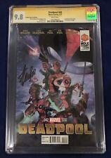 Deadpool #42 La Mole Comic Con Clayton Crain CGC 9.8 Signed - Stan Lee GUARDIANS
