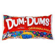 Dum Dums ~ Original Pops ~ 500 Ct ~ 5.3 Pounds ~ C-Store,Concession,Lollipops