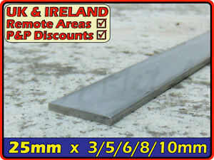 Stainless Steel Flat Bar ║ 25mm wide ║ marine,strip,section,profile,sheet