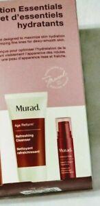 New Murad Hydration Essentials Cleanser & Serum