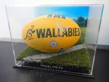 ✺Signed✺ ISRAEL FOLAU Wallabies Football PROOF COA Waratahs 2018 Jersey