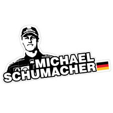 MICHAEL SCHUMACHER Sticker Decal Car RACING Driver #0609EN