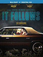 It Follows (Blu-ray Disc, 2015, Includes Digital Copy UltraViolet) Brand New