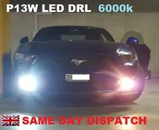 FORD MUSTANG CAMARO  SUBARU WRX LED DAY RUNNING LIGHTS BULBS DRL P13W 600lm!!!
