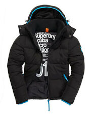 Superdry Scuba Micro Edition Black Decompression Puffer Jacket XL
