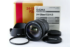 **AS IS** Appearance MINT Sigma 24-135mm F/2.8-4.5 For Canon EF From Japan A0727