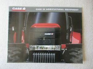 CaseIH ag equipment full line catalog brochure Steiger tractors cotton combine